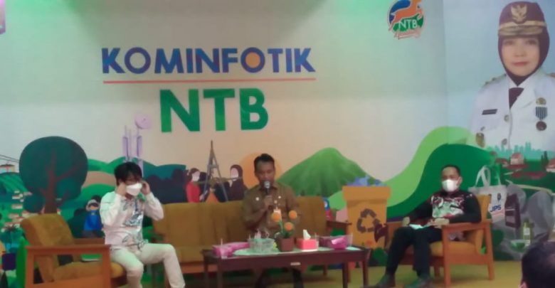 Kadis Kominfotik Ajak LP Perbanyak Konten Positif Bangun NTB Gemilang