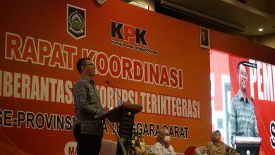 Gubernur NTB, Apresiasi KPK Dalam Mengawal Pembangunan NTB