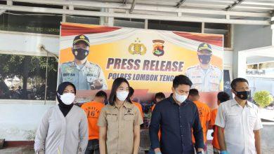 Tiga Pemuda Diamankan Polres Lombok Tengah, Ada apa?