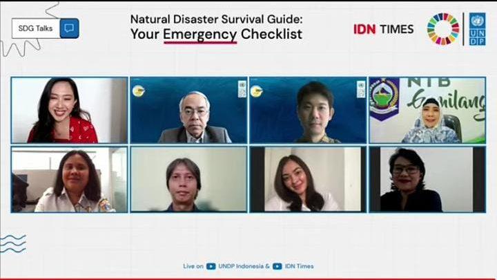 Wagub NTB Jabarkan Mitigasi Bencana di Forum UNDP Indonesia's SDG Talks