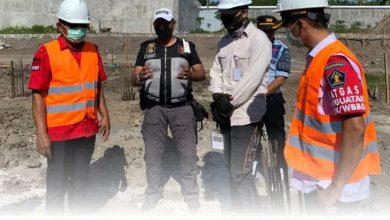 Kakanwil Kemenkumham NTB, Tinjau Pembangunan LP di Lobar