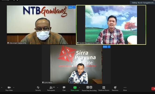 Sekertaris Daerah NTB, Langkah Addendum PT. GTI Sudah Tepat