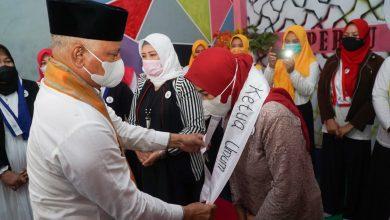 Bupati Lotim Hadiri Pelantikan Pengurus Lembaga Persatuan Perempuan