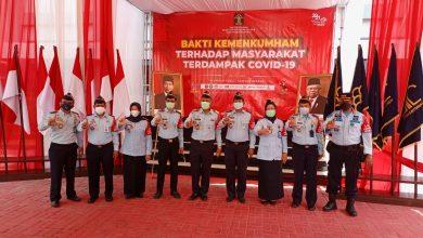 Kanwil Kemenkumham NTB Gelontorkan 500 Paket Sembako