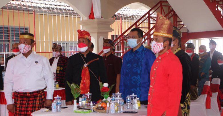 Gubernur NTB Menyerahkan Remisi Kemerdekaan Bagi WBP