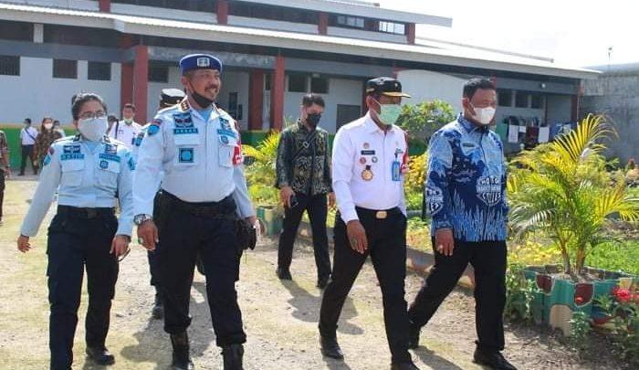 Apel Pembinaan Kesadaran Berbangsa dan Bernegara di Lapas Mataram