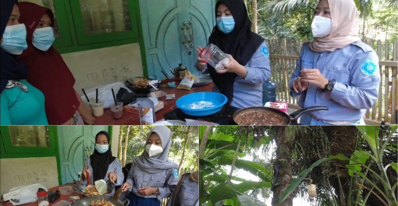 Mahasiswa KKN TEMATIK UNRAM Bantu Kembangkan Komoditi Gula Aren di Desa Mekarsari