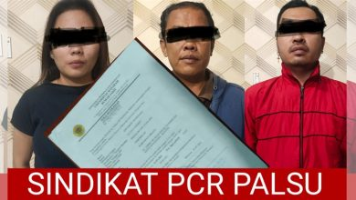 Sindikat Pemalsuan Suket PCR RS Unram Diringkus Polisi