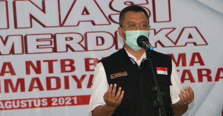 Vaksinasi Massal, Gubernur Dukung Penuh Langkah Kapolda NTB