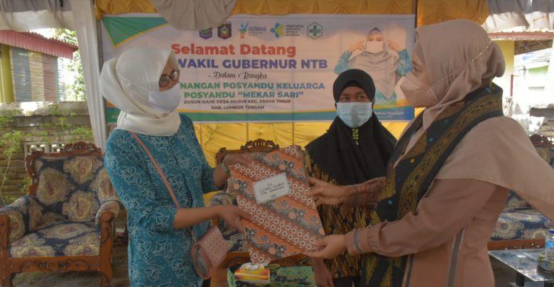 Wagub NTB, Posyandu Dusun Dahe Bisa Jadi Contoh di Loteng