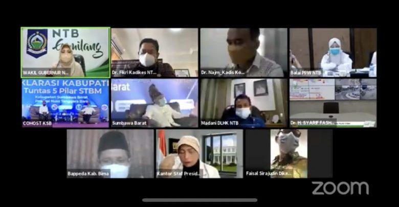 Wagub NTB, Pertama di Indonesia, KSB Tuntaskan 5 Pilar STBM