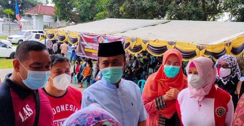 Dukung NTB Green Zone, IKAPTK NTB Gelar Vaksinasi Massal Gratis