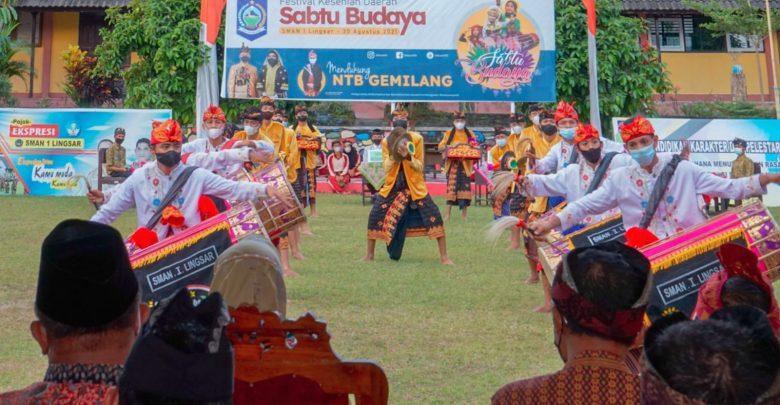 "Wakil Gubernur NTB Resmikan Inovasi ""Sabtu Budaya"""