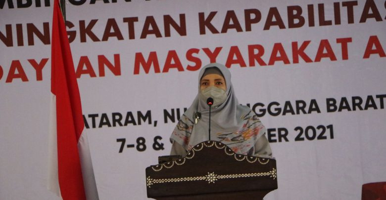 Wagub NTB, Perlunya Edukasi Anti Korupsi Untuk Masyarakat