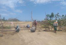 Warga Desa Sengkol Blokir Jalan Bypass Sirkuit Mandalika
