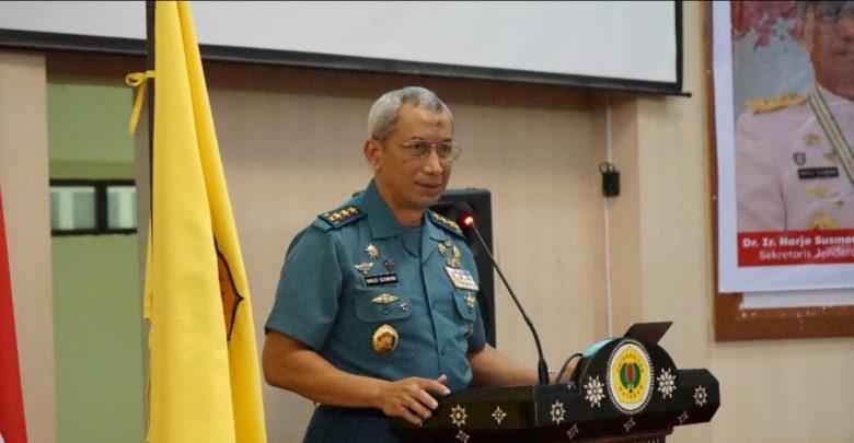 Sesjen Wantannas Jendral Harjo Susmoro Beri Kuliah Umum di Unram