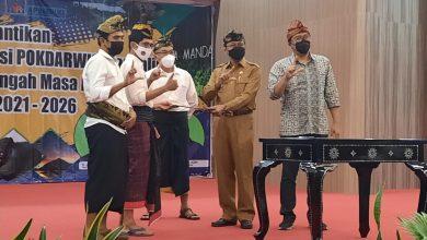 Palantikan dan Pengukuhan AP Mandalika Oleh Dispar Lombok Tengah