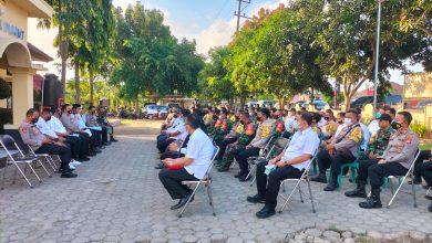 Anev Percepatan Vaksinasi Wilayah Kecamatan Pujut dihadiri Kapolda NTB