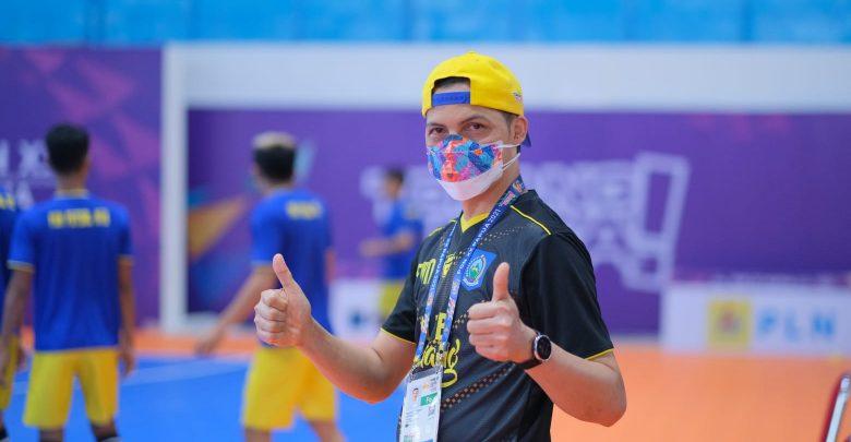 Manager Futsal Peraih Perunggu di PON Papua datangi KONI