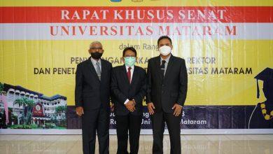 Senat Menetapkan Tiga Calon Rektor Unram Periode 2022-2026